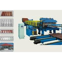 Steel & Aluminium Step Roofing Tile Roll Forming Machine thumbnail image