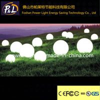 Rechargeable waterproof  RGB LED Pool Ball