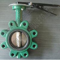 Lug Type Butterfly Valve with Handle Pn10 Dn80 thumbnail image