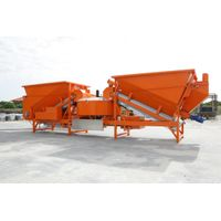 Great working condition F-2200 (55m3/h) Mobile concrete plant thumbnail image