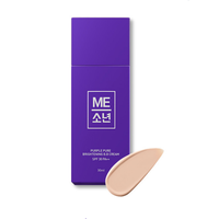 MESONEON Purple Pure Brightening BB Cream with wrinkle removal and UV protection