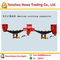 American Overslung Suspension Series for Trailer Parts