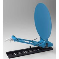 TDT 1.2m Ku TVRO mobile satellite antenna for vehicle-mounted of new produce
