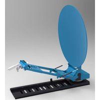 TDT 1.2m Ku TVRO mobile satellite antenna for vehicle-mounted of new produce