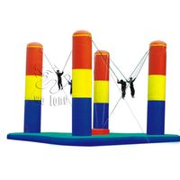 Inflatable Three Pillars Bungee/the inflatable sport games with CE/UL certification thumbnail image