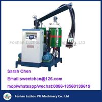 POLY and ISo tank PU mixing machine/polyurethane filling machine