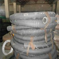 Heat Resistant Rough Surface Rubber Hose With Cloth Insert thumbnail image