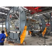 Automatic Container Rotation Machine Revolving Frame Movable Clamping