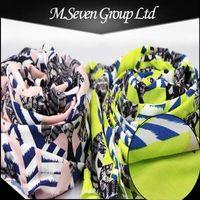 Flower Printed Fabric for Women Dress