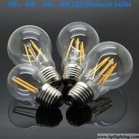 8W LED Filament Bulbs