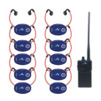 Swimmer coaching radio swimming headset headphone
