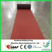 Outdoor rubber flooring roll rubber mat