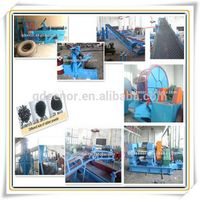 Automatic Waste Tire Recycling Line/whole Tire Shredder Recycling Line Machine/Rubber Crumb making l