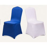 Elastic Spandex White Chair Cover