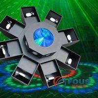 8-Scan LED Laser Light / Beam Laser Light