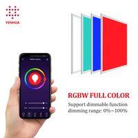 36W RGB colorful flash 2x2ft LED panel light directly surface mounted thumbnail image