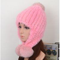 Mink Fur Hat Fashion Style ,Model04
