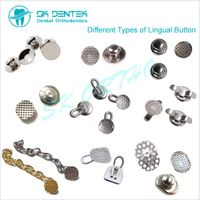 Dental Orthodontic Lingual Button