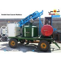portable foam concrete machinery