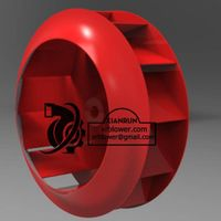 Backward Curved Impeller For Industrial Blowers and Fans