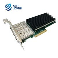 IEEE member with own MAC PCI Express 10G SFP+ dual port Ethernet Network Adapter for high end server