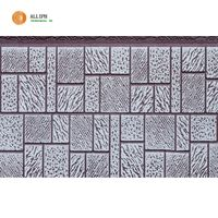 Mosaic texture pu foam sandwich panel for container house light steel villa thumbnail image