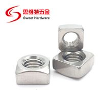 DIN557 Carbon Steel Galvanized Square Nuts Stainless steel 304 nuts thumbnail image