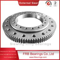 Supply high quality 6787/820G double row thrust angle contact ball slewing bearings