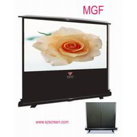 extension pole floor standing projection screen thumbnail image