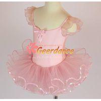 High quality! Flutter sleeves girls ballet costume 15C0012 thumbnail image