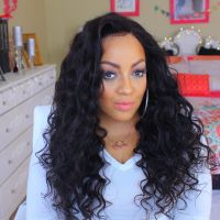 hot sale deep curly In STOCK CHEAP FACTORY full lace wigs