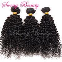 Tangle Free Natural Human Hair Weaving Extension Weft NO Chemical NO Shedding thumbnail image