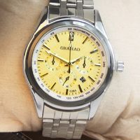 GD12 Fashion unique business style wristwatches mens waterproof watches stainless steel strap