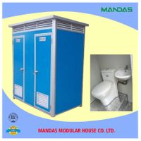 Cheap and easy assembilng portable toilet made in China