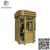 Guard Use House Sentry Box With Light Steel Frame Sandwich Panel guard house
