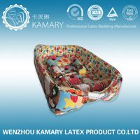 latex foam baby crib