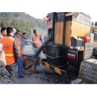 hot recycling asphalt road maintenance truck