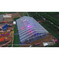 2000sqm transparent big tent for annual business anniversary gala by leading tent manufacturer thumbnail image