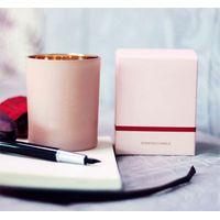 High-Grade Electroplating Spray Glass Jar Soy Wax Aromatherapy Candles thumbnail image