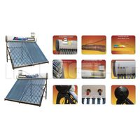 integrated coppe coil r pressurized solar water heater
