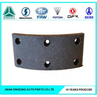 EQ145 rear brake linings for Dongfeng trucks