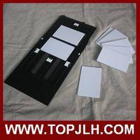 Inkjet direct printing PVC card