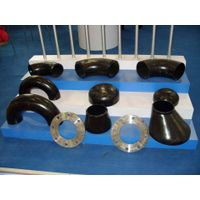 carbon steel pipe fitting and flange