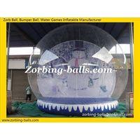 Show Ball, Inflatable Snow Ball, Snow Globe, Christmas Snow Ball thumbnail image