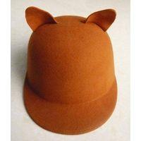 chocolate felt hats
