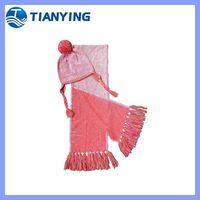 tianying fashion earflap kids winter hat scarf thumbnail image