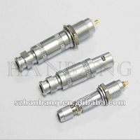 push pull coaxial connector, lemo&odu substitute
