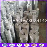 China 260X40 mesh 97mm Automatic Continous Belt Screen Filter Mesh with Fine filtration
