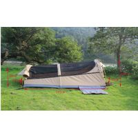 hot sell swag tent with 340 heavy duty rip stop cotton canvas