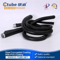 25mm black pvc coated flexible conduit supplier thumbnail image